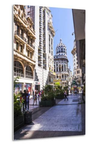 Floride Street, Downtown Buenos Aires, Argentina, South America-Matthew Williams-Ellis-Metal Print