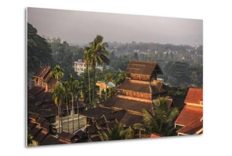 Kyaik Tan Lan Pagoda, the Hill Top Temple in Mawlamyine, Mon State, Myanmar (Burma), Asia-Matthew Williams-Ellis-Metal Print