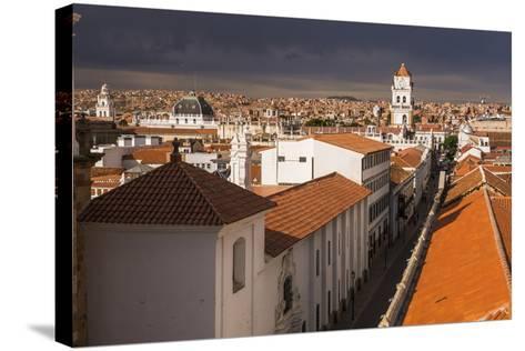 Historic City of Sucre Seen from Iglesia Nuestra Senora De La Merced, Bolivia-Matthew Williams-Ellis-Stretched Canvas Print