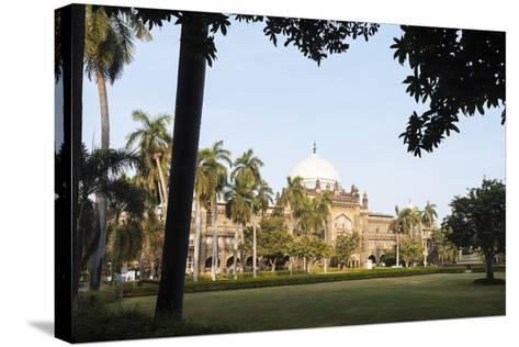 Exterior of Prince of Wales Museum, Mumbai (Bombay), India, South Asia-Ben Pipe-Stretched Canvas Print