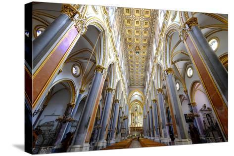 San Domenico Maggiore Church, Naples, Campania, Italy, Europe-Carlo Morucchio-Stretched Canvas Print
