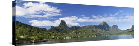 Cook's Bay, Moorea, Society Islands, French Polynesia, South Pacific, Pacific-Ian Trower-Stretched Canvas Print