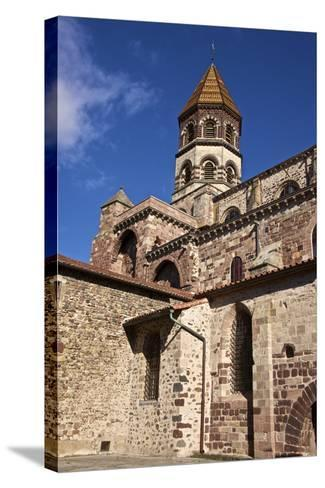 Saint Julian Basilica (St. Julien Basilica) Dating from the 9th Century-Guy Thouvenin-Stretched Canvas Print