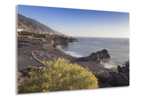 Playa De Charco Verde, Puerto Naos, La Palma, Canary Islands, Spain, Europe-Markus Lange-Metal Print