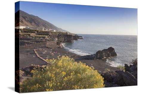 Playa De Charco Verde, Puerto Naos, La Palma, Canary Islands, Spain, Europe-Markus Lange-Stretched Canvas Print
