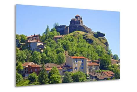 Medieval Castle Dating from the 15th Century, France-Guy Thouvenin-Metal Print