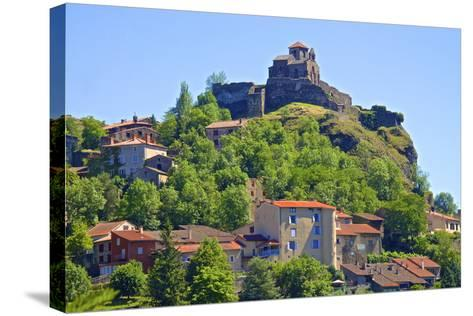 Medieval Castle Dating from the 15th Century, France-Guy Thouvenin-Stretched Canvas Print