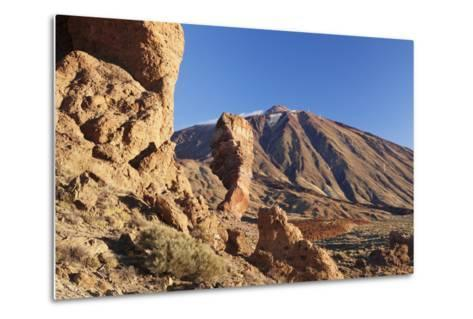 Los Roques De Garcia at Caldera De Las Canadas, National Park Teide, Canary Islands-Markus Lange-Metal Print