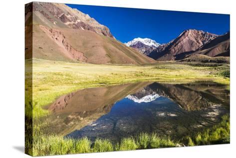 Aconcagua, Argentina-Matthew Williams-Ellis-Stretched Canvas Print