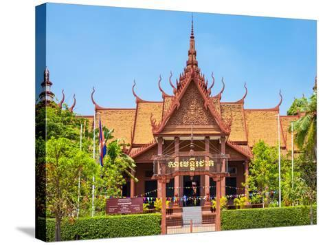 National Museum of Cambodia, Phnom Penh, Cambodia, Indochina, Southeast Asia, Asia-Jason Langley-Stretched Canvas Print
