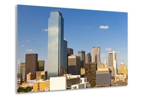 Skyline, Dallas, Texas, United States of America, North America-Kav Dadfar-Metal Print