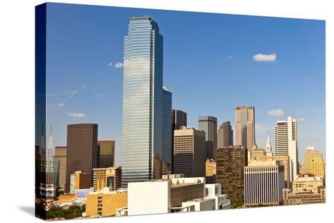 Skyline, Dallas, Texas, United States of America, North America-Kav Dadfar-Stretched Canvas Print