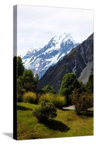 Aoraki/Mount Cook National Park, Southern Alps, South Canterbury, South Island, New Zealand-Suzan Moore-Stretched Canvas Print