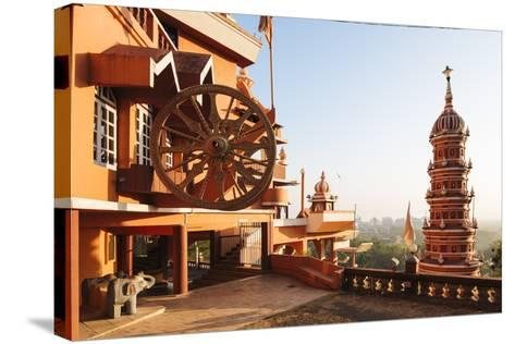 Maruti Temple, Panjim, Goa, India, South Asia-Ben Pipe-Stretched Canvas Print