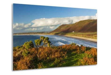 Rhossili Bay, Gower, Wales, United Kingdom, Europe-Billy Stock-Metal Print