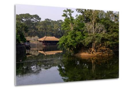 Tomb of Emperor Tu Duc of Nguyen Dynasty, Dated 1864, Pavillon of Xung Kiem, Group of Hue Monuments-Nathalie Cuvelier-Metal Print