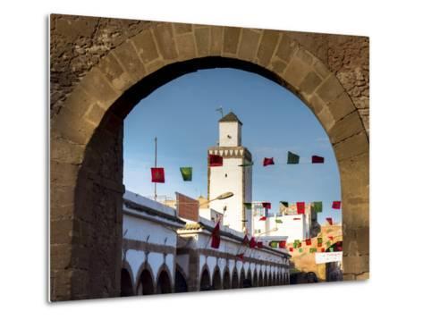 Medina Street Scene, Essaouira, Morocco, North Africa, Africa-Charles Bowman-Metal Print