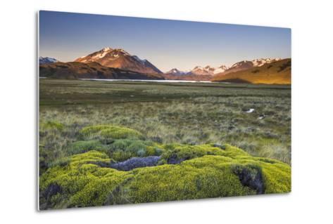 Sunrise at Belgrano Lake (Lago Belgrano), Argentina-Matthew Williams-Ellis-Metal Print