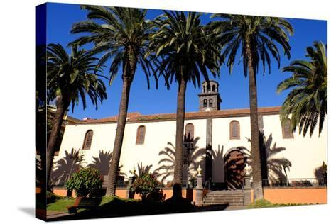 Church of the Immaculate Conception, San Cristobal De La Laguna, Tenerife, Canary Islands, Spain-Carlo Morucchio-Stretched Canvas Print
