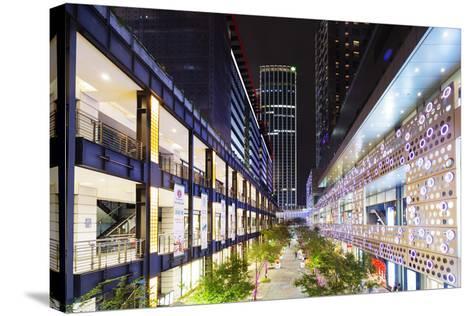 City Center, Taipei, Taiwan, Asia-Christian Kober-Stretched Canvas Print
