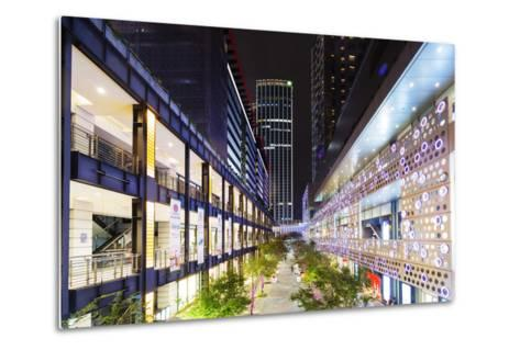 City Center, Taipei, Taiwan, Asia-Christian Kober-Metal Print