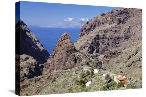 Mountain Village Masca, Teno Mountains, Tenerife, Canary Islands, Spain, Europe-Markus Lange-Stretched Canvas Print