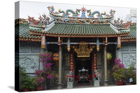 Nghia an Hoi Quan Pagoda, Cholon, Ho Chi Minh City (Saigon), Vietnam, Indochina, Southeast Asia-Christian Kober-Stretched Canvas Print