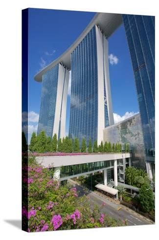 Marina Bay Sands Hotel, Singapore, Southeast Asia-Frank Fell-Stretched Canvas Print