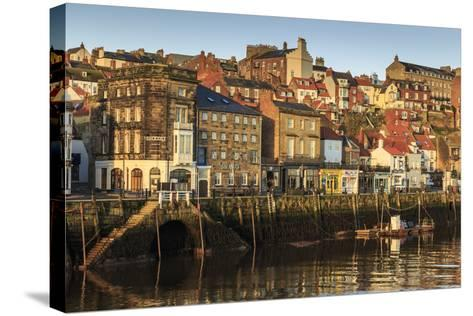 Townhouses, North Yorkshire-Eleanor Scriven-Stretched Canvas Print