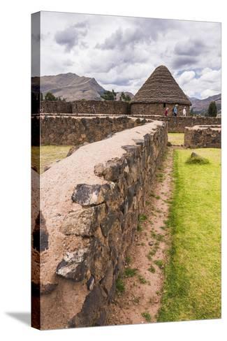Raqchi, an Inca Archaeological Site in the Cusco Region, Peru, South America-Matthew Williams-Ellis-Stretched Canvas Print