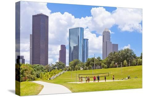 Eleanor Tinsley Park, Houston, Texas, United States of America, North America-Kav Dadfar-Stretched Canvas Print
