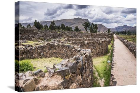Raqchi Inca Ruins, an Archaeological Site in the Cusco Region, Peru, South America-Matthew Williams-Ellis-Stretched Canvas Print