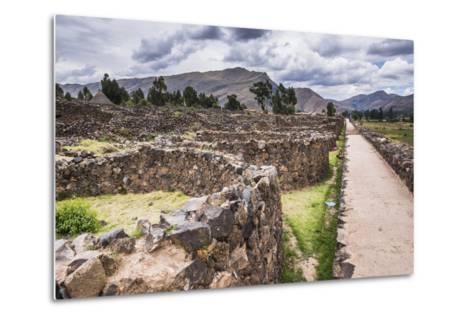 Raqchi Inca Ruins, an Archaeological Site in the Cusco Region, Peru, South America-Matthew Williams-Ellis-Metal Print
