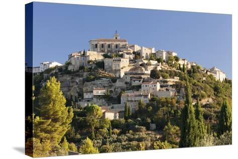 Hilltop Village of Gordes, Provence, Provence-Alpes-Cote D'Azur, Southern France, France, Europe-Markus Lange-Stretched Canvas Print