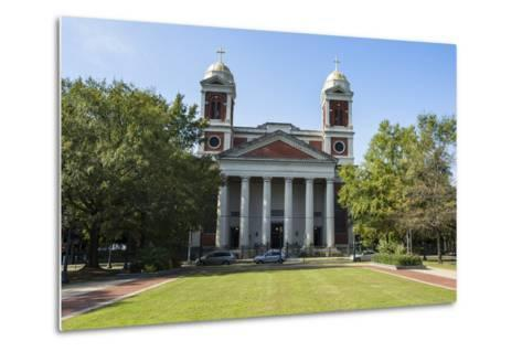 The Cathedral Basilica of the Immaculate Conception, Seat of the Archdiocese of Mobile, Alabama-Michael Runkel-Metal Print