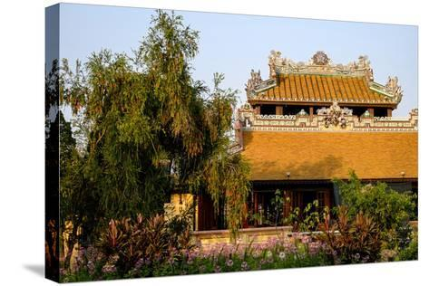 Roof Detail, Thua Thien Hue Province-Nathalie Cuvelier-Stretched Canvas Print