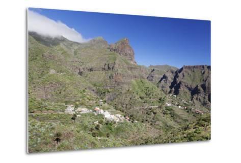 Mountain Village Masca, Teno Mountains, Tenerife, Canary Islands, Spain, Europe-Markus Lange-Metal Print