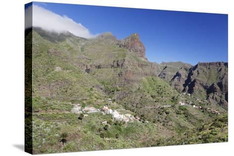 Mountain Village Masca, Teno Mountains, Tenerife, Canary Islands, Spain, Europe-Markus Lange-Stretched Canvas Print