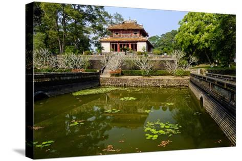 Tomb of the Emperor Minh Mang of Nguyen Dynasty, the Light Pavillon, Group of Hue Monuments-Nathalie Cuvelier-Stretched Canvas Print