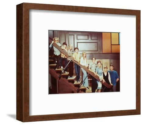 The Brady Bunch--Framed Art Print