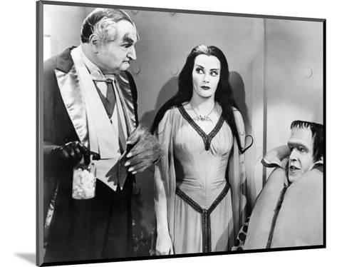 The Munsters--Mounted Photo