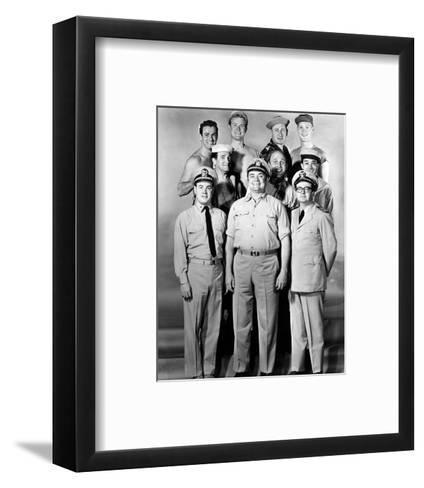 McHale's Navy--Framed Art Print
