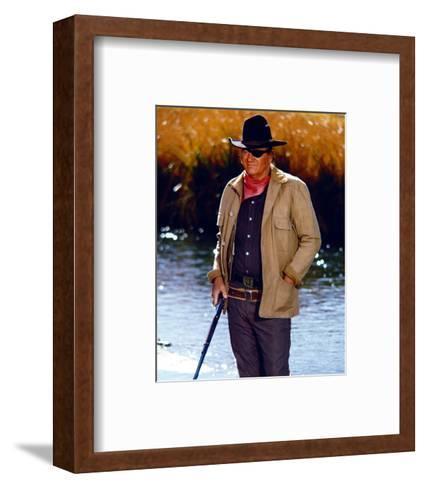 Rooster Cogburn--Framed Art Print