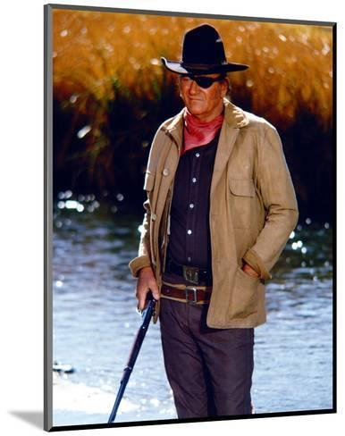 Rooster Cogburn--Mounted Photo