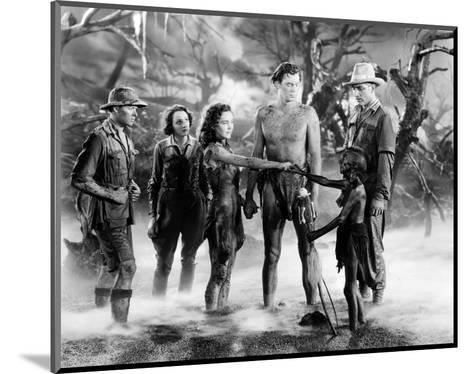Tarzan and His Mate--Mounted Photo