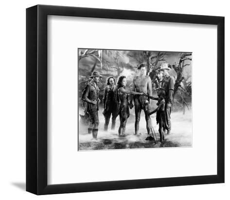 Tarzan and His Mate--Framed Art Print