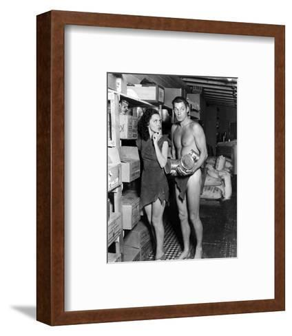 Tarzan's Secret Treasure--Framed Art Print