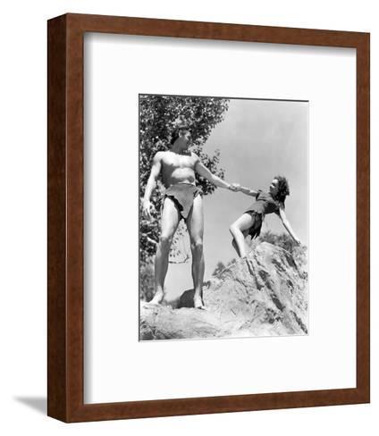 Tarzan's Secret Treasure--Framed Art Print