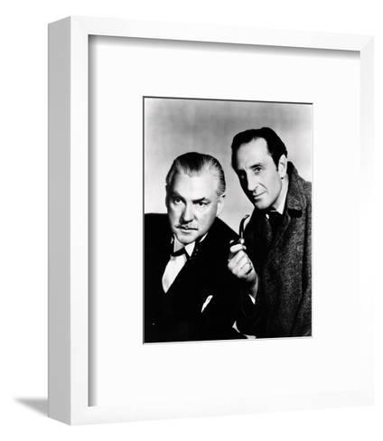 The Adventures of Sherlock Holmes--Framed Art Print