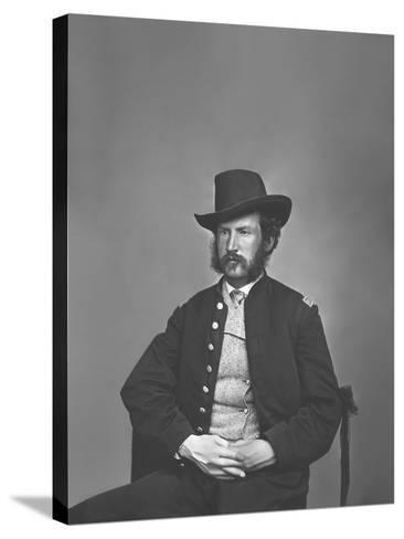 Captain Edward P. Doherty Portrait, Circa 1861-1865-Stocktrek Images-Stretched Canvas Print